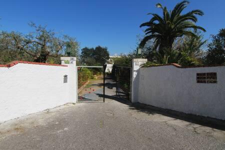 Villa in giardino siciliano con vista sul mare - Milazzo