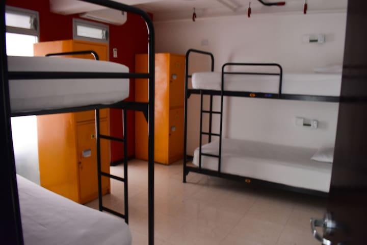 Habitación compartida para mujeres