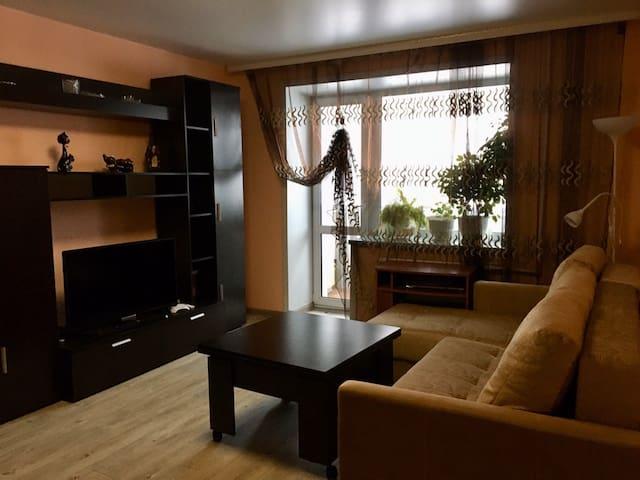 Светлая,уютная квартира в центре Шерегеша!!!