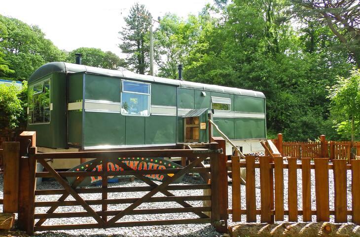 The ShowMan's Wagon on the Mawddach