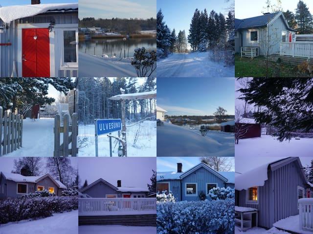 Cozy house in lovely Ulvesund
