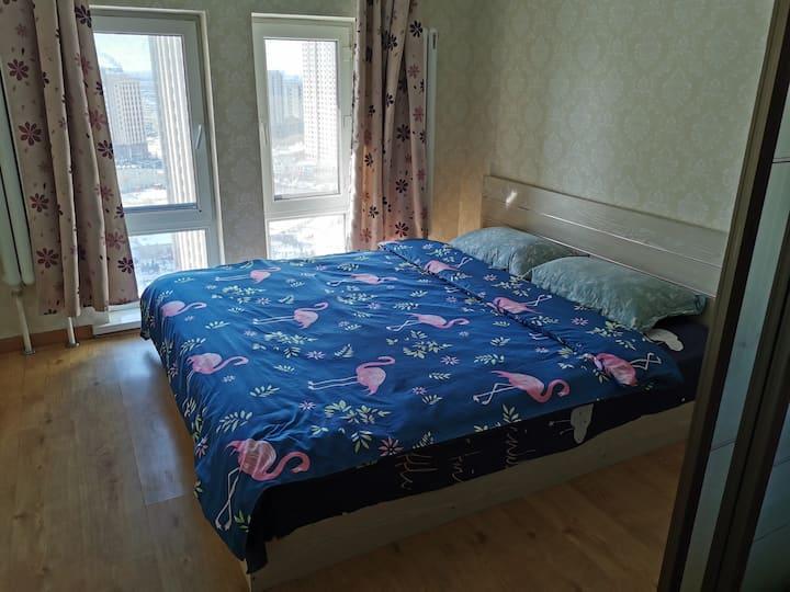 哈西loft两室多人房A1123