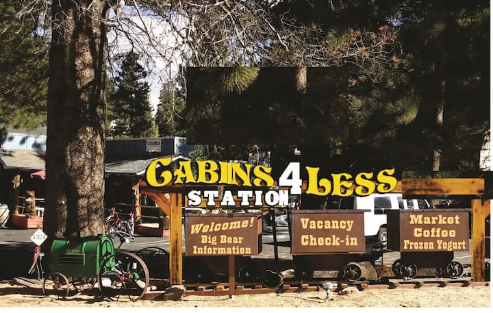 42- village camping Cabins 4 Less No fee rentals