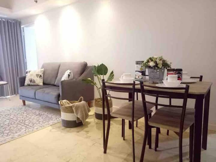 Homey 2 Bed Room Apartment at Braga City Walk