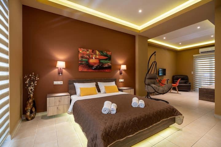 Chocolate deluxe apartment