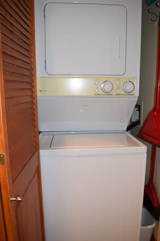 Full sized washer/dryer in your unit for use.