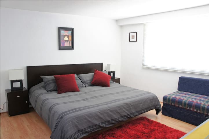 Comfortable Suite Near Condesa - Ideal 4 Couples - Mexico City
