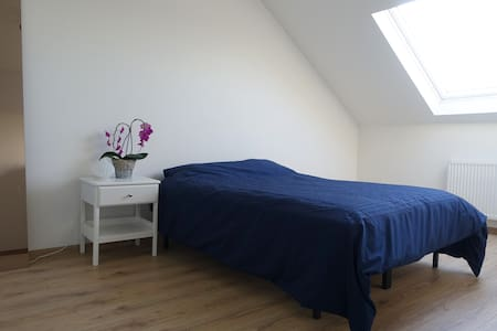 Double room in a fresh spacious apartment - Schaarbeek