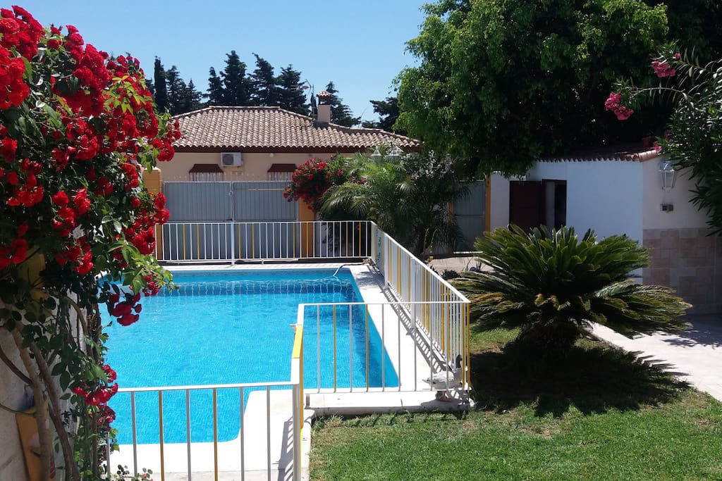 Villa alzira avec piscine et clim houses for rent in for Pole house piscine