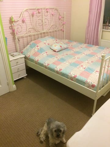 Large double bedroom with ensuite so no sharing.
