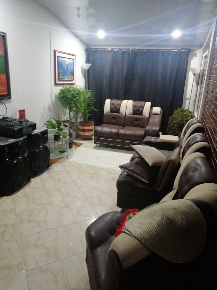 Habitación con ambiente Familiar