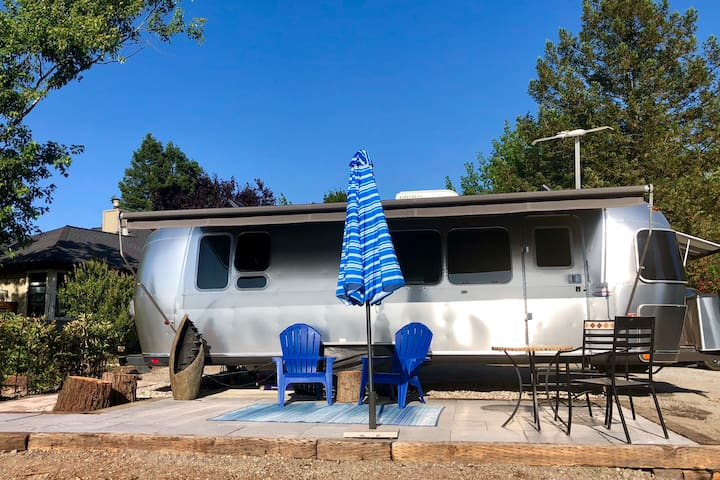 Airstream Vineyard Escape:  Couples Getaway