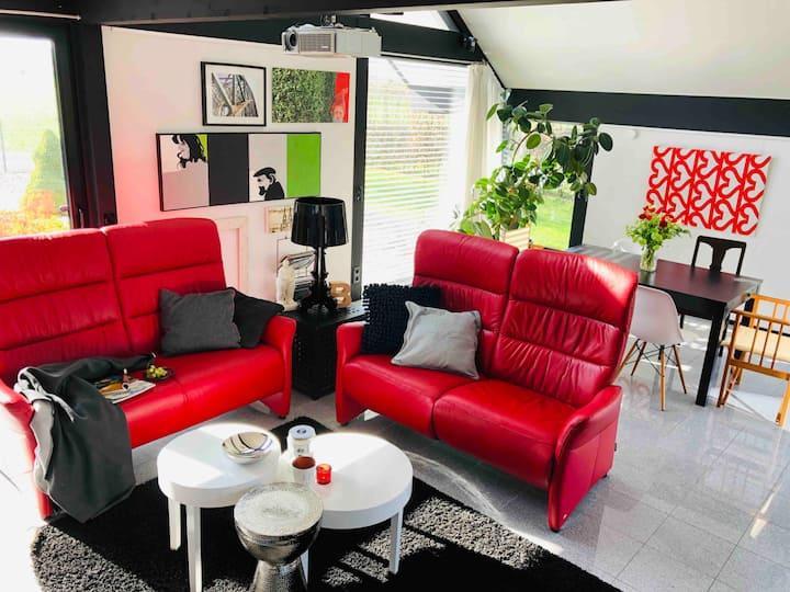 Modernes Traumhaus im Grünen
