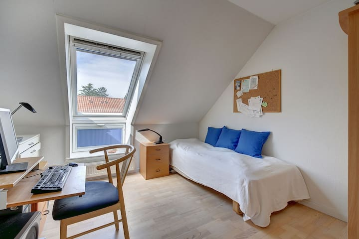 10.5 sqm bedroom in Town House - Hørsholm - Daire