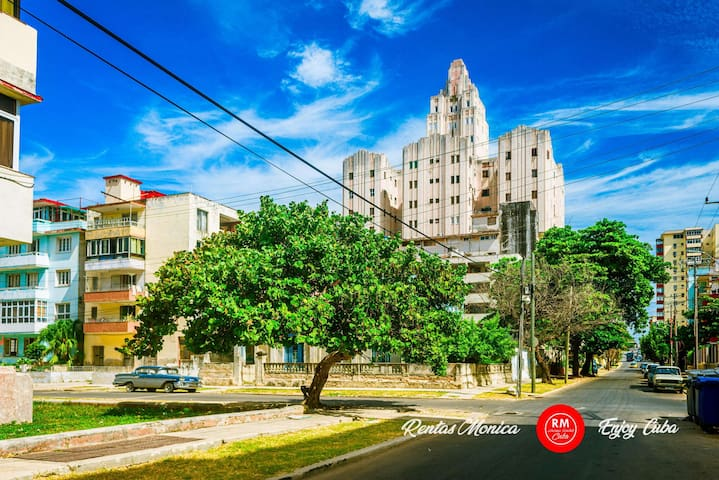 Great for couples Apartment Vedado Memories