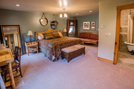 Cache La Poudre Suite, Platte River Fort - Greeley - Szoba reggelivel