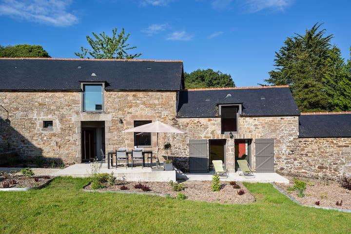 Gîte Coëtquen, Domaine du Bois Riou - Quévert - House