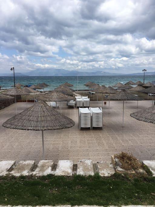 Sitenin ozel plaji