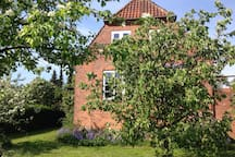 Traditional Danish bricklayer's villa from 1927.