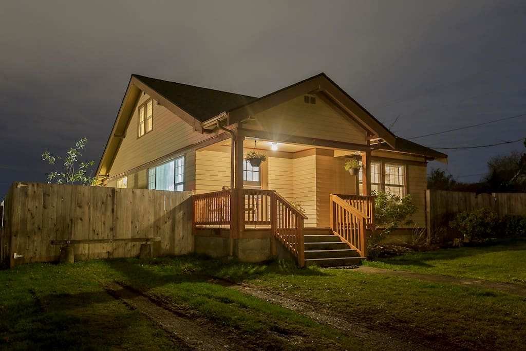 Charming cottage built in 1920 with many original features.