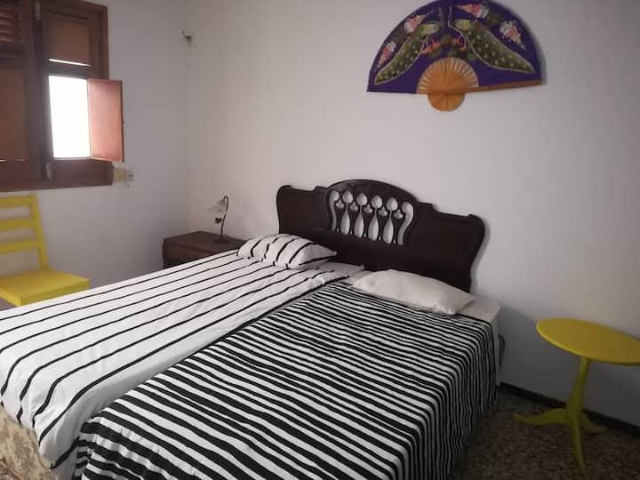 Schlafzimmer (2) in gemütlicher Wohnung -La Aldea