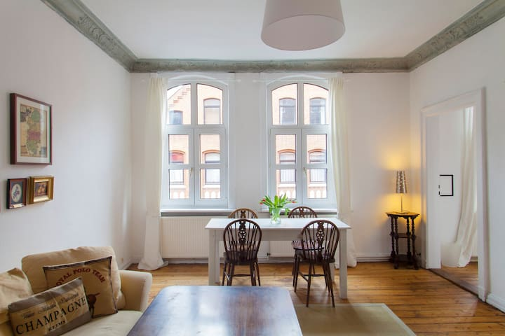 Central and stylish 3-room flat - Hannover - Wohnung
