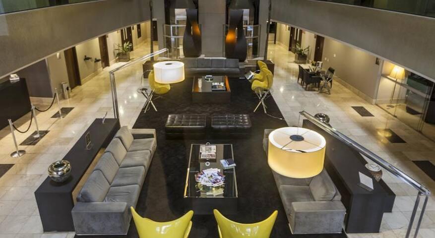 Lindo Flat no Melia Brasil 21. - Brasília - Serviced apartment
