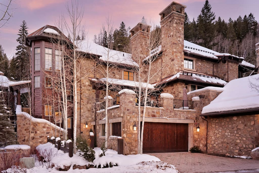 Slope Side, One of a Kind Village Walk Home.  True Ski in Ski Out and minutes from Beaver Creek Village.