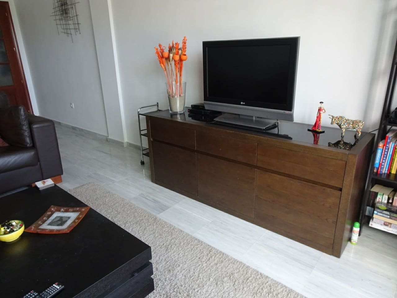TV with DVD and PS2