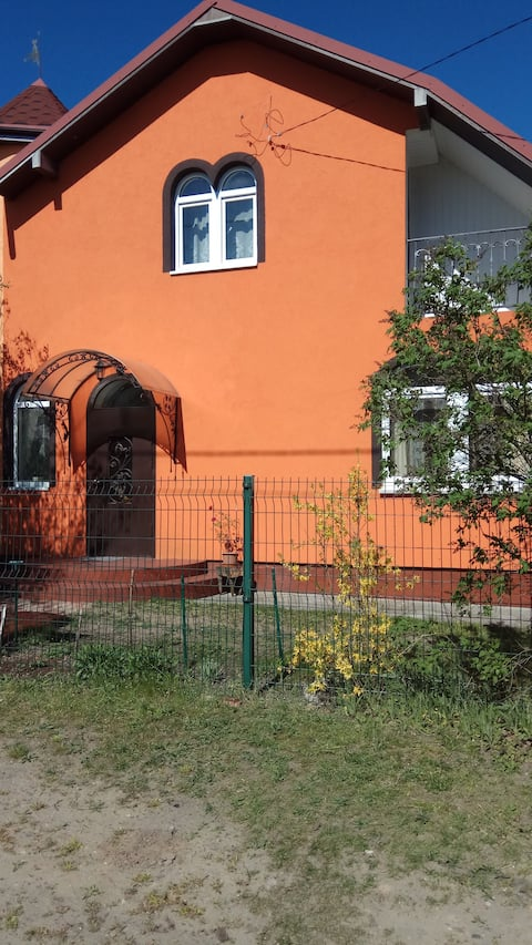 Уютный дом рядом с Балтийским морем