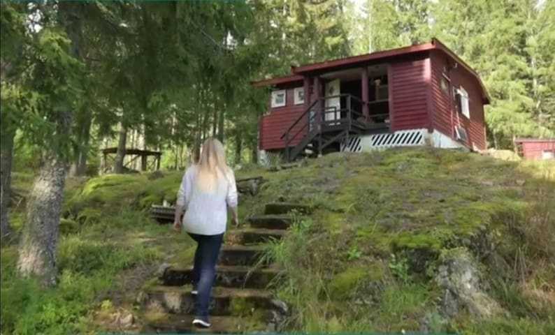 Cabin. The simple life. Only 40 mins from Oslo!