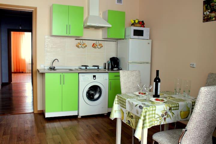 Двухкомнатная квартира на Раздольной - Oryol - Apartment