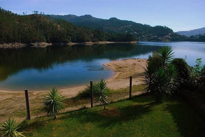 Casa da Barca T1 -  acesso à praia fluvial