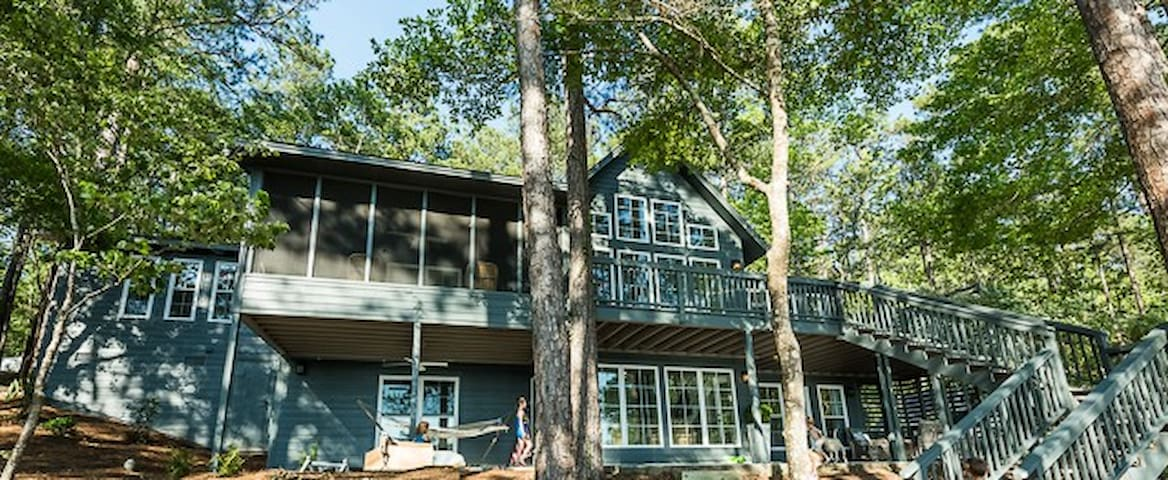 Lake Martin 6 BR Waterfront Newly Renovated Home