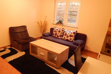 2 bedroom apartment, kitchen, bath near Frankfurt - Hainburg - Pis