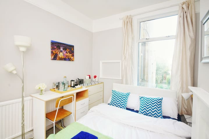 Private double room, ground floor of period house
