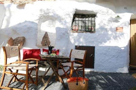 Cave Acacia Guadix Granada.Balcones
