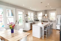 Bright and Open Kitchen