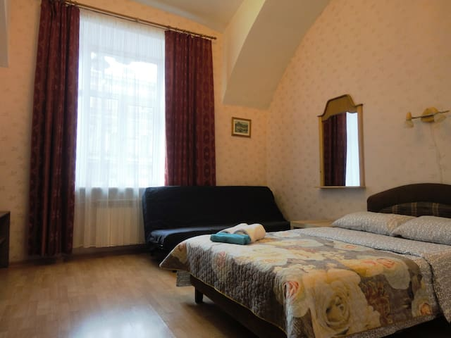 Room with kitchen in  apart-hotel in the center - Sankt-Peterburg - Bed & Breakfast