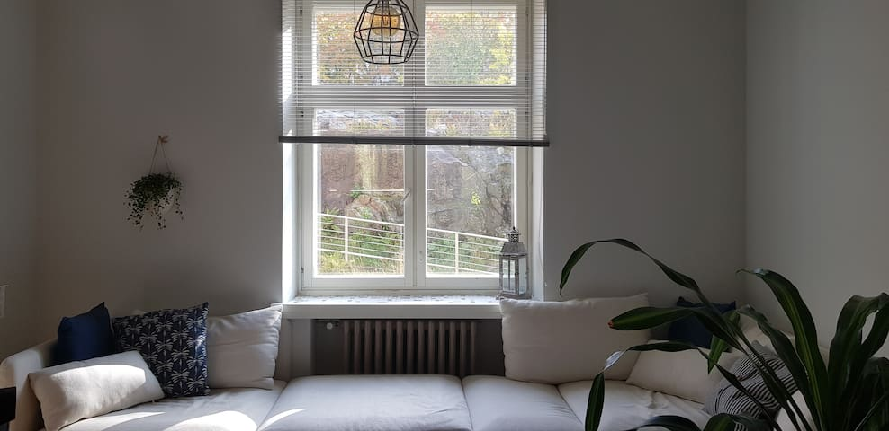 a Spacious White Apartment in Kallio