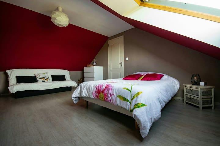 Chambre tout confort au calme