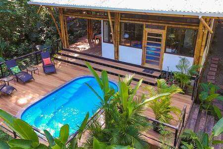 The Sea Monkey House, Mal Pais - Jungle & Beach