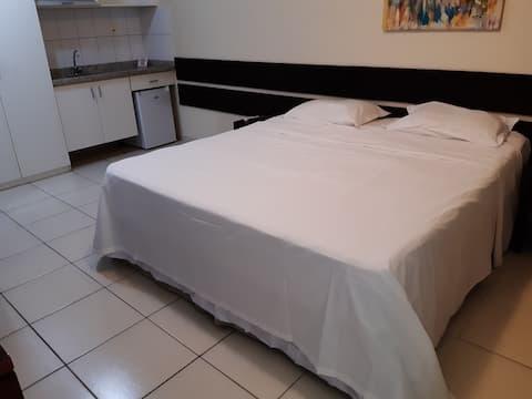 Studio America Towers casal ou 2 camas de solteiro