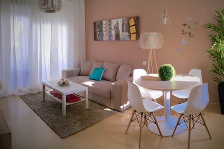 Lujoso Apto. 2 hab terraza y jardín - Torre-Pacheco - Lägenhet