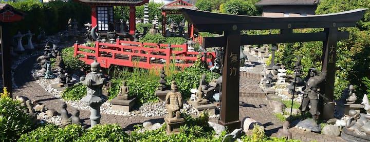 Asian Garden - Kaminzimmer