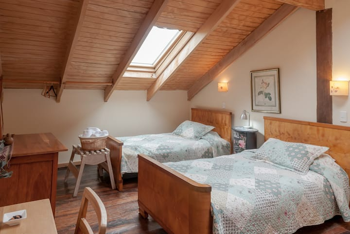 Galpon Aire Puro -Double Twin Room