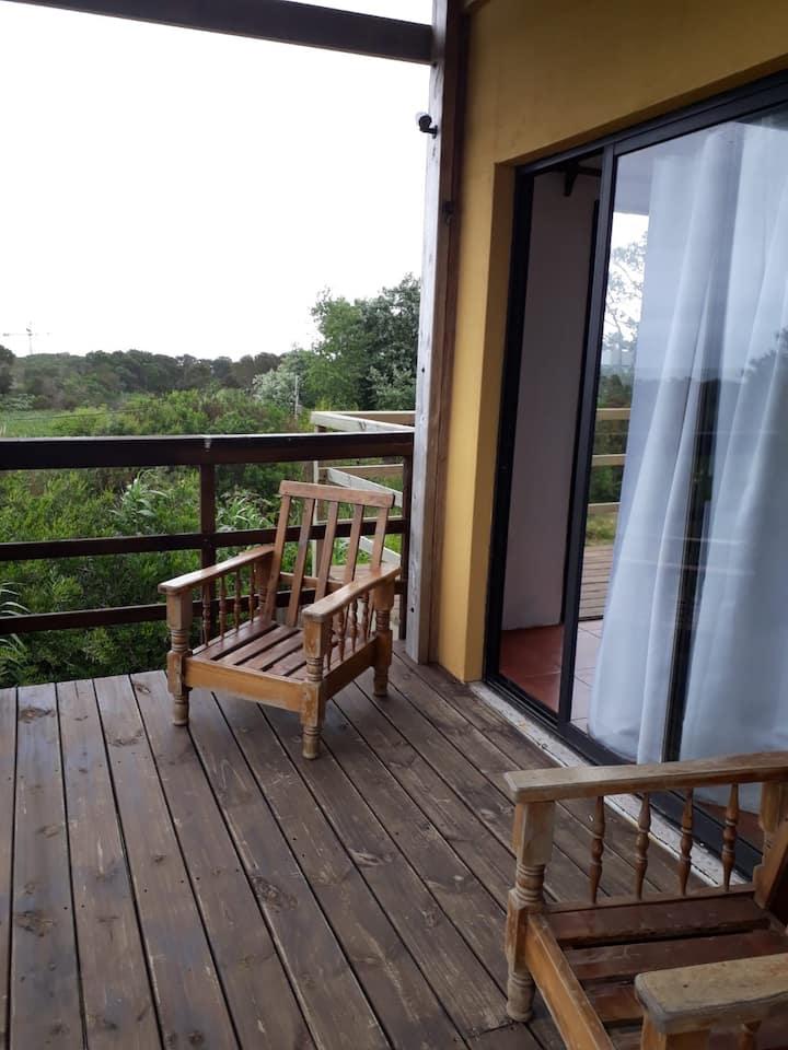 Apartamento para 3con vistas al Mar.