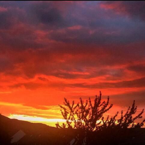 Loanhead Sunset