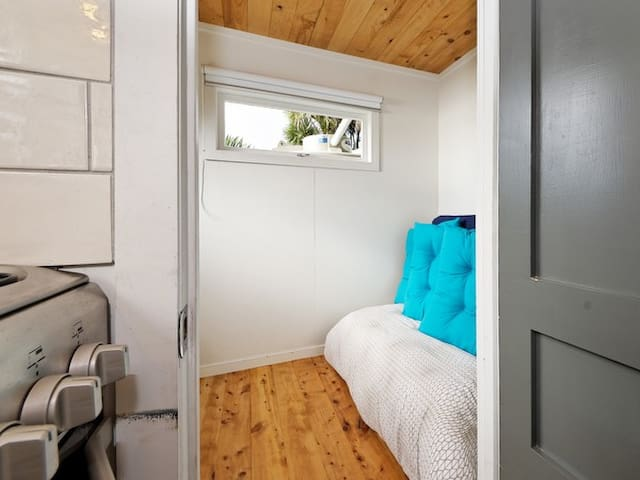 Second bedroom with futon