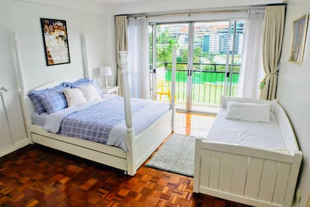Spacious 74sqm condo,2T/Bath fronting BurnhamPark